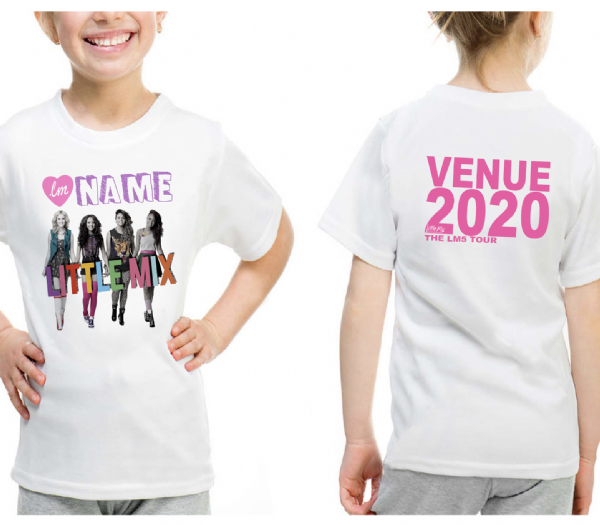 Little Mix Logo GIG T-shirt 2020